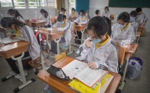 Hari Pertama Masuk Sekolah Dengan Berakhirnya Pandemi
