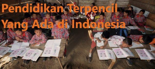 Beberapa Organisasi Pendidikan Terpencil Yang Ada di Indonesia
